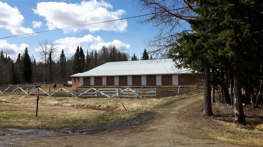 26025 Chief Lake Road > Prince George | 56 Acres | A Horse Lovers Dream | 60'x120′ Indoor Riding Arena | 8 Stall Barn