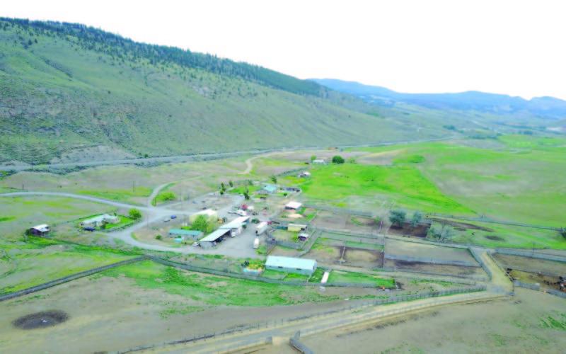 Bar M Ranch Arial